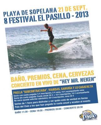 8. FESTIBALA EL PASILLO 2013